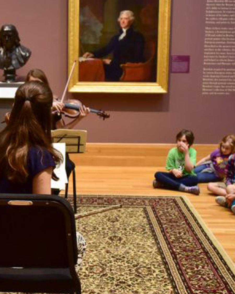 Art and Music: a Family Program with the Bowdoin International Music Festival
