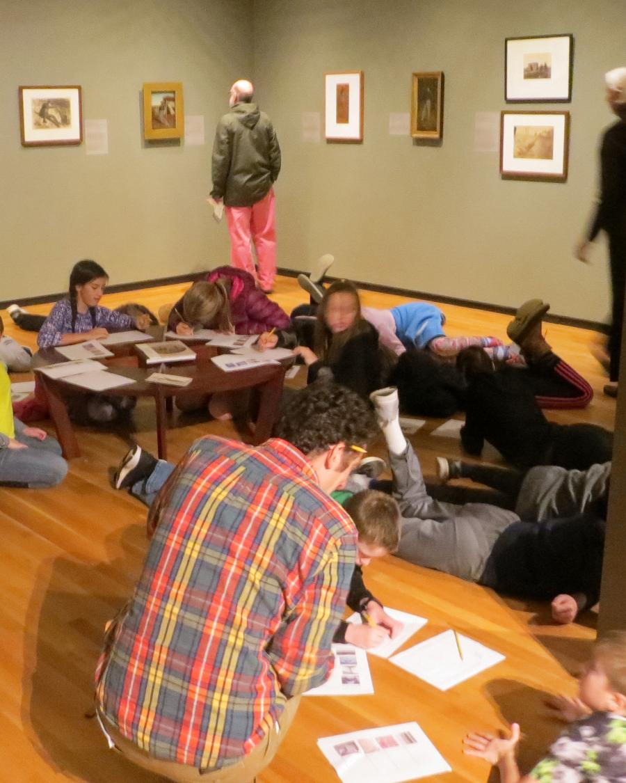 Children's Hour at the Museum of Art