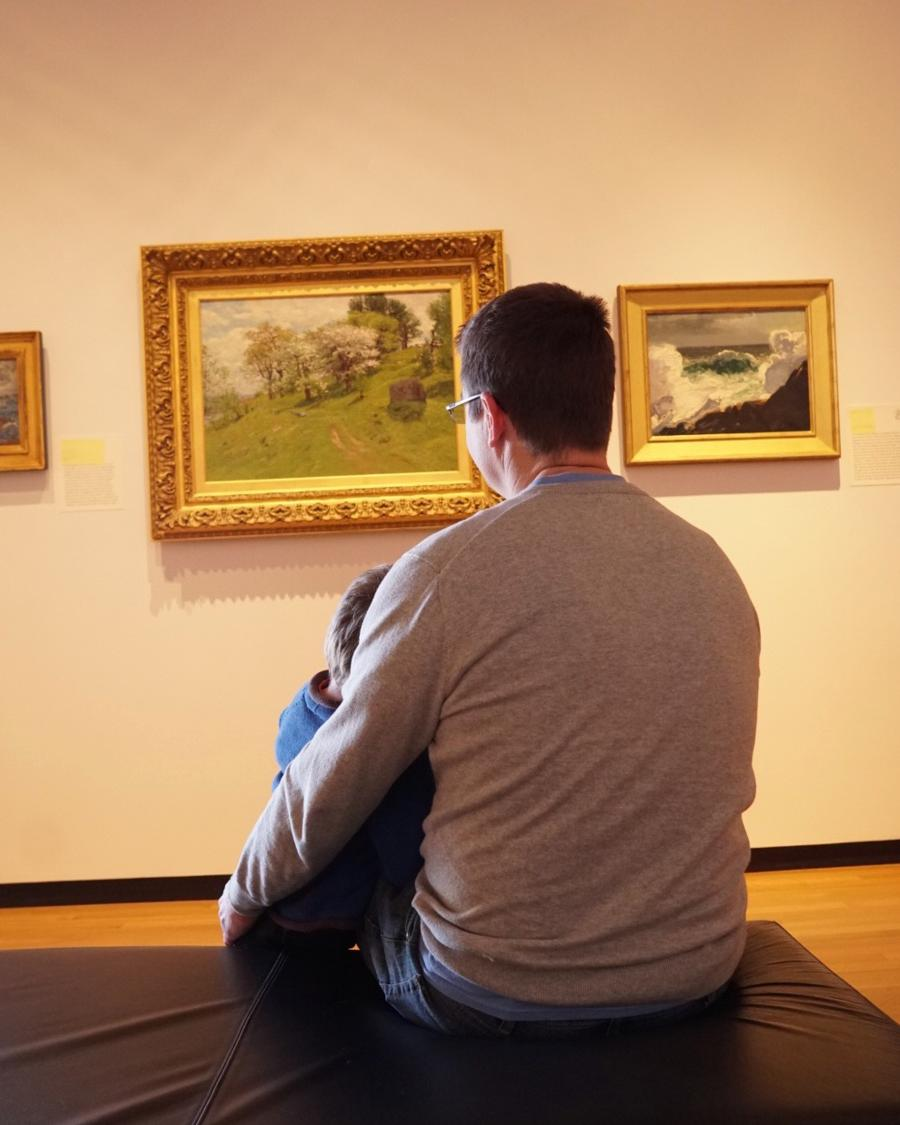 Family Saturday at the Museum of Art