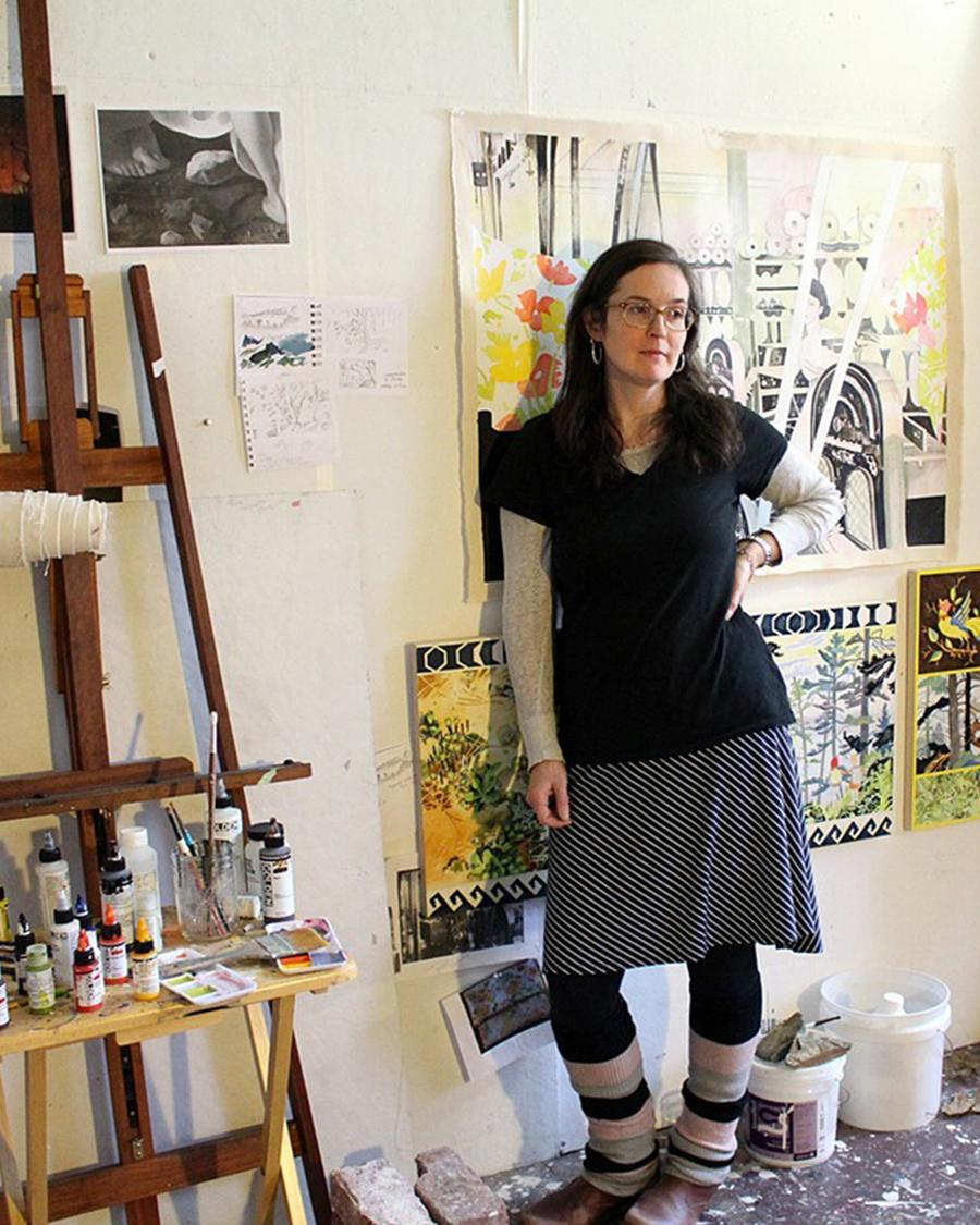 Gallery Conversation and Artist's Workshop with Hilary Irons