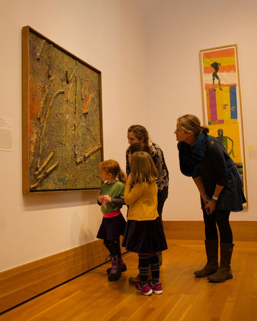 Family Art Night at the Museum