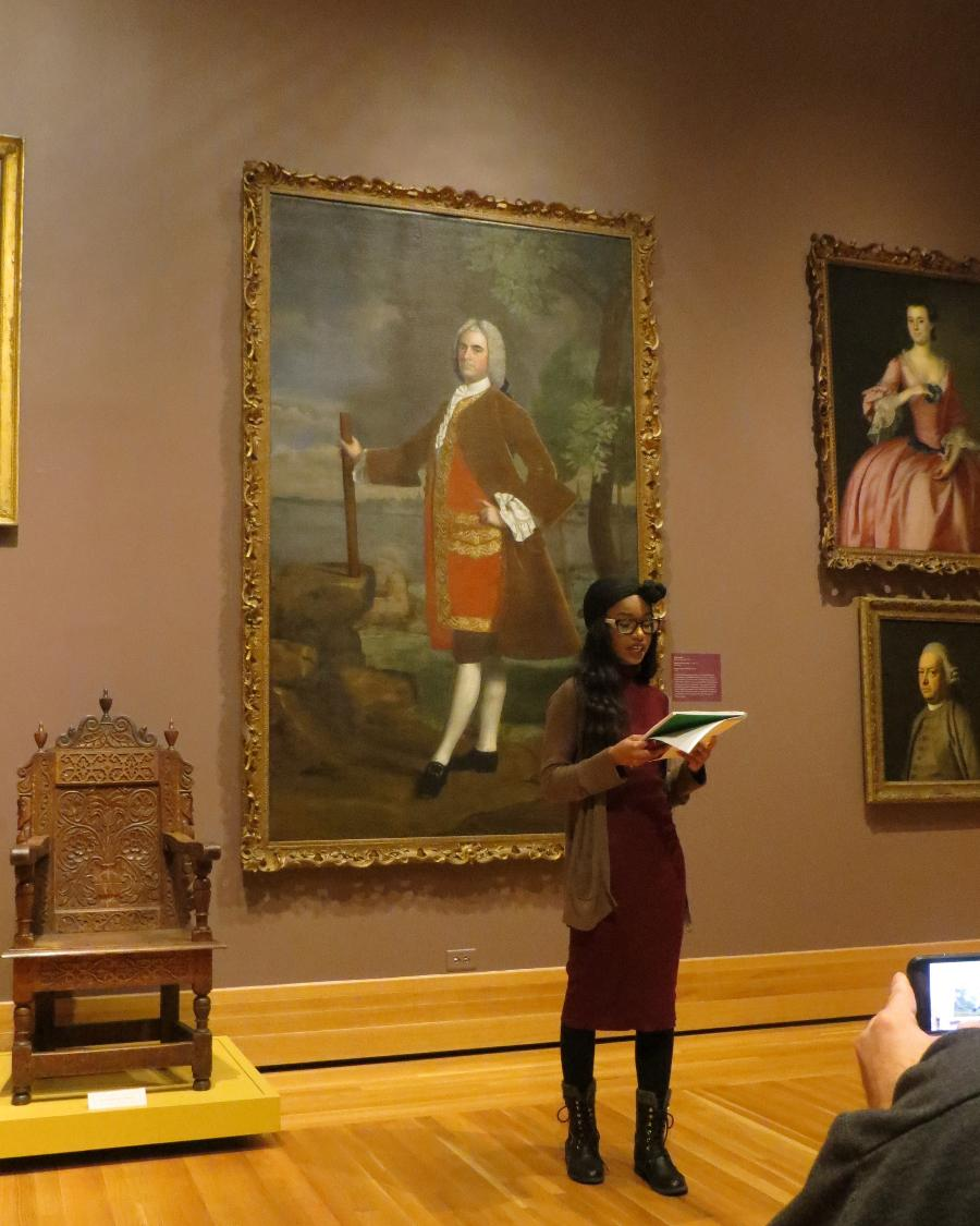 Insights: Bowdoin Slam Poets at the Museum