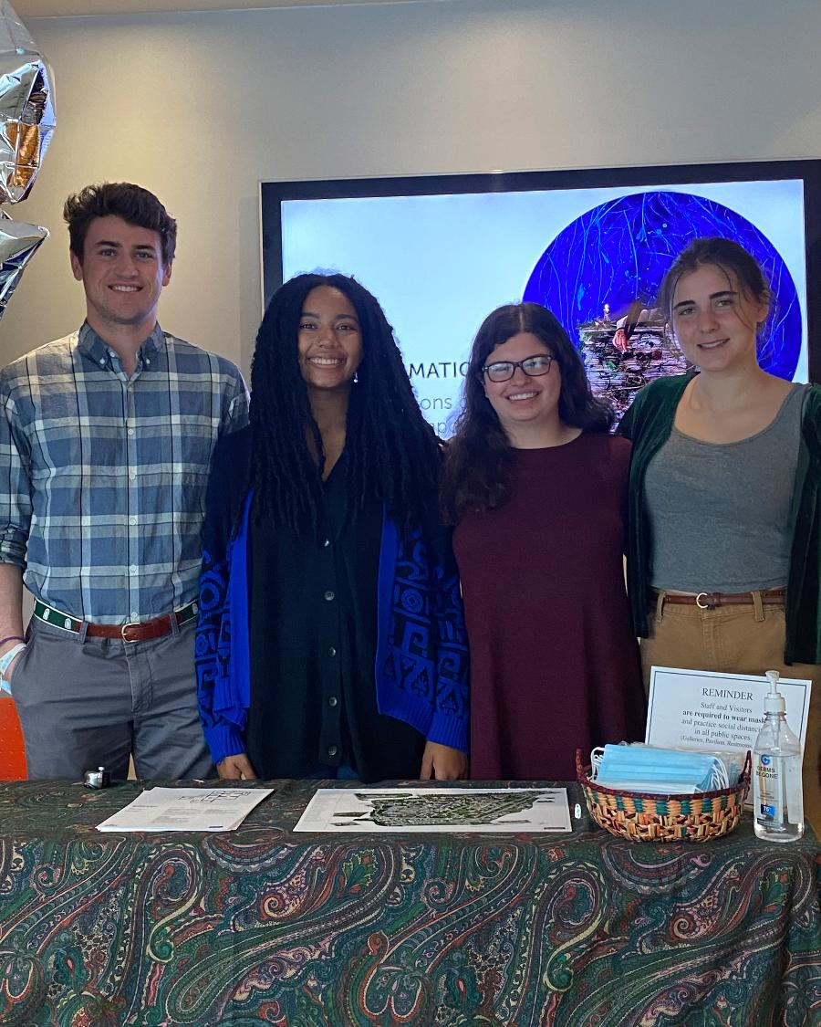 Presentations of Summer Student Interns at the Bowdoin College Museum of Art