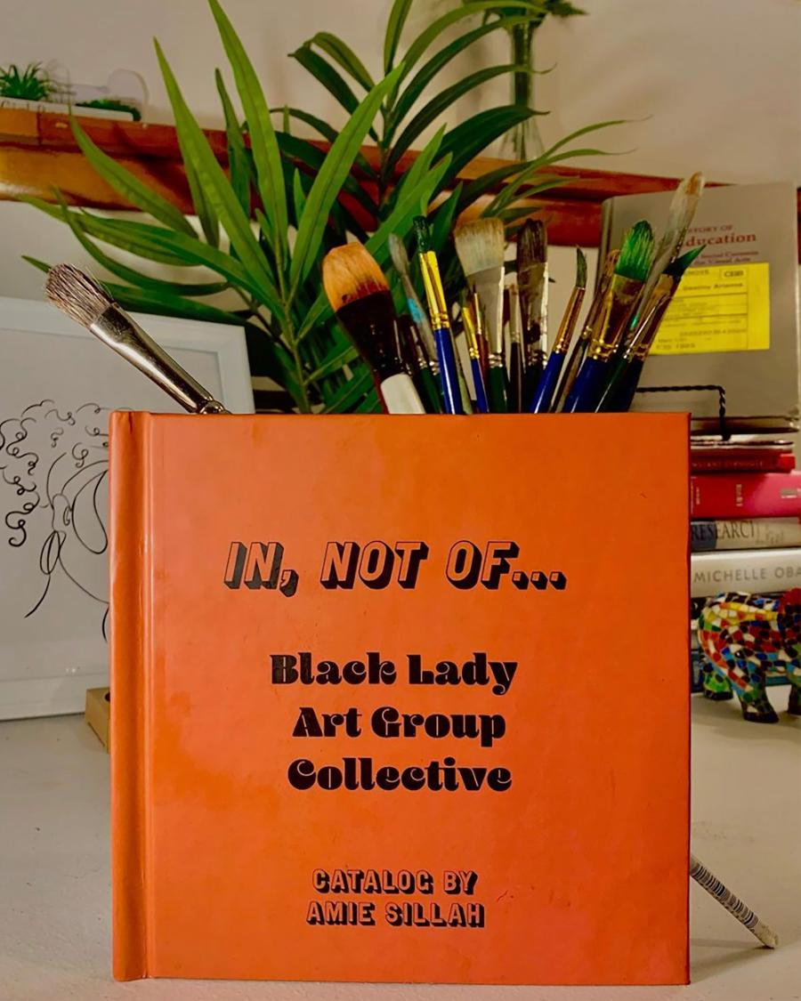 """Discussion with the """"Black Lady Art Group"""""""