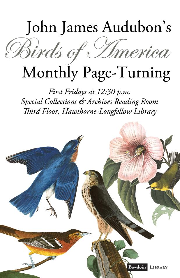 Audubon's 'Birds of America' Page-Turning with guest speaker Havana Caso-Dosembet '20