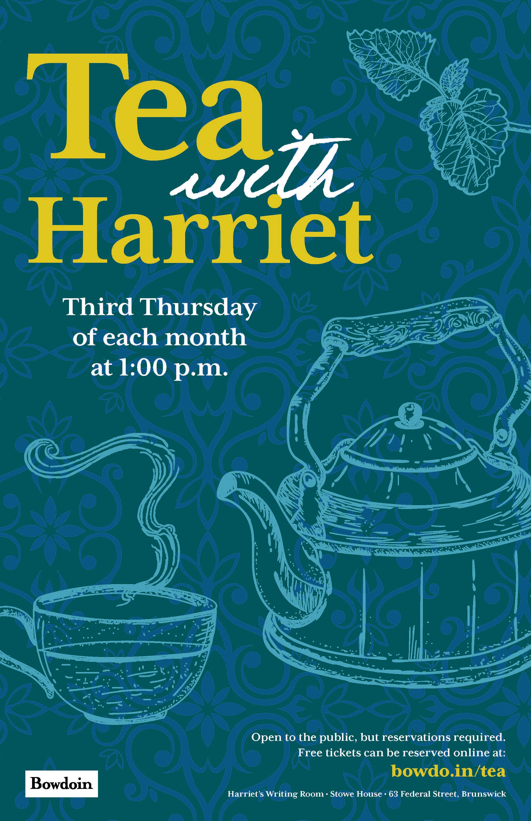 Tea with Harriet