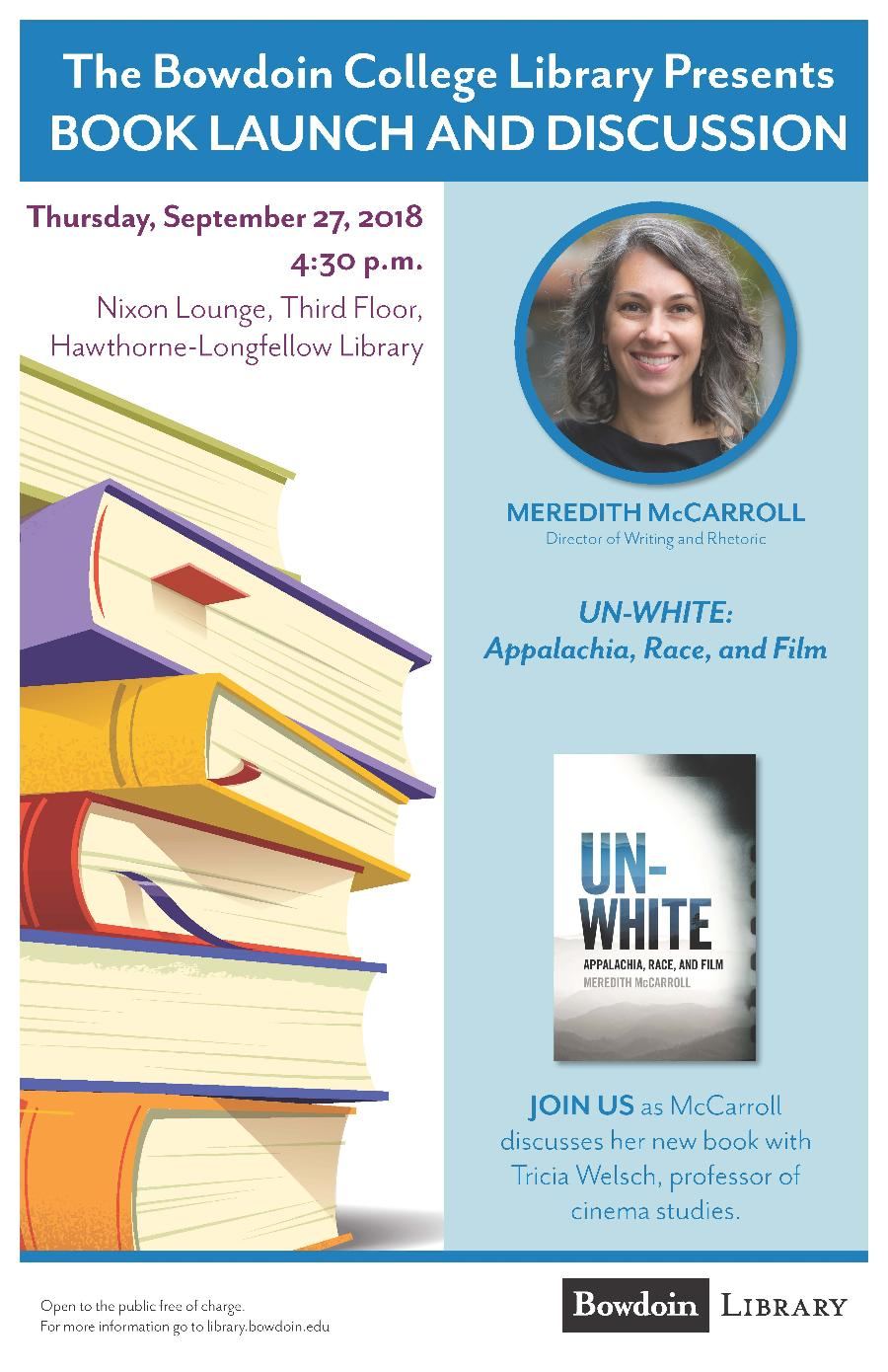 Book Launch and Discussion: Meredith McCarroll